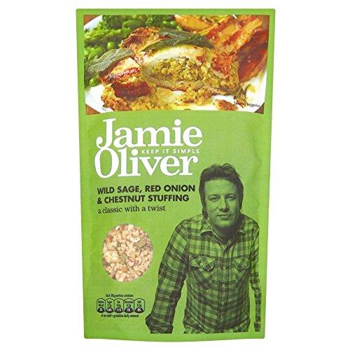 Jamie Oliver mélange à farce Sage, l'oignon et Chesnut (110g) - Paquet de 6