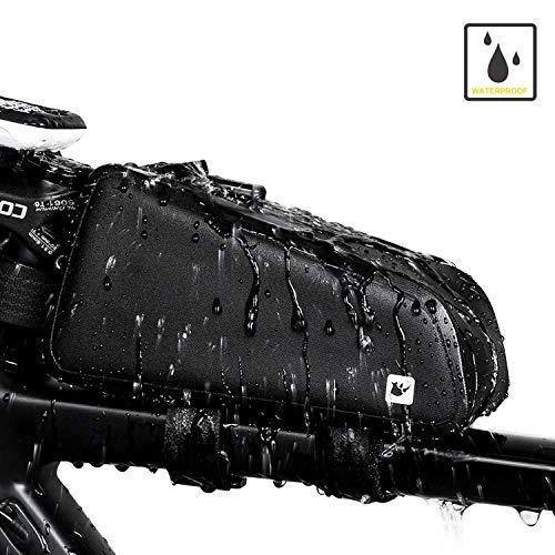 MTSBW Fahrradrahmen Tasche Wasserbeständigkeit Vorderen Oberrohr Taschen Fahrrad Punch Mit Schütteln Reduzieren Kissen Für Professionelle Radfahren Zubehör