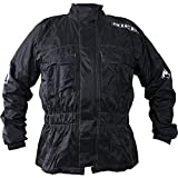 2RW100/L - Richa Rain Warrior Textile Motorcycle Jacket L Black (42)