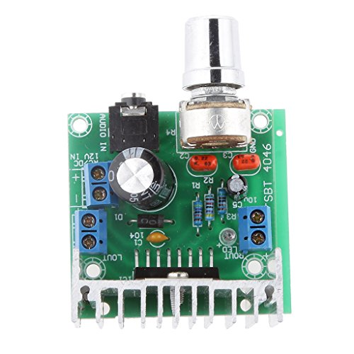 Magideal AC/DC 12V TDA7297 2x15W Digital Audio Amplifier DIY Kit Dual-Channel Module  available at amazon for Rs.405