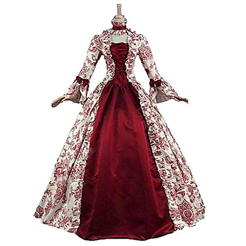 1791's lady Damen victorian rokoko-kleid inspiration maiden kostüm nq0032 xl: height65-67 chest42-43 waist33.5-35