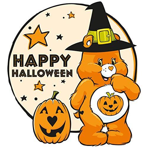 Glücksbärchi Kostüm Kleinkind - Bilderwelten Wandtattoo - Glücksbärchis Halloween Mond, HxB: 60 x 60cm