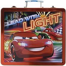 CARS METAL caja de la lata del arte del arte LÁPICES CASO pintura del artista actividad establecida COLORANTES