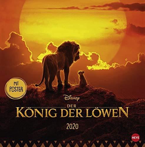 Der König der Löwen Broschur Kalender 2020 par Heye