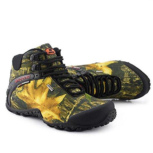 Showlovein , Chaussures de pêche pour homme Khaki Gelb