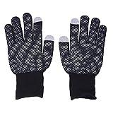 SODIAL(R) Paire de gants Acrylique Silicone Digital ecran tactile Mobile Hiver
