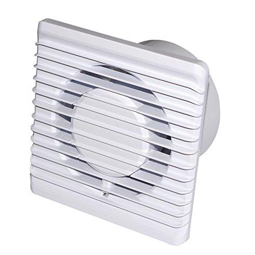 PREISHIT !!! Badlüfter Silent Wandventilator Standard extrem Leise nur 26 dB ! Ventilator Lüfter Ø 100 mm Planet (Ø 100, Standard (S)) (Badezimmer Lüfter Leise)