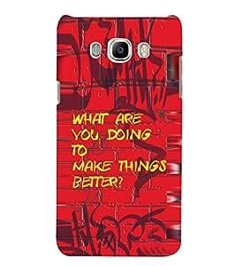 PrintVisa Questioning Saying 3D Hard Polycarbonate Designer Back Case Cover for Samsung Galaxy J7 2016 :: Samsung Galaxy J7 2016 Duos :: Samsung Galaxy J7 2016 J710F J710FN J710M J710H