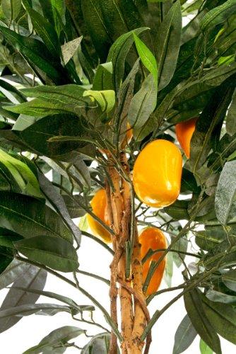 Mangobaum 1,50 m Kunstbaum Kunstpflanze künstlich