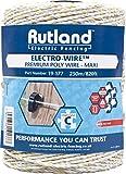 Rutland Filo per Recinto Elettrico, Bianco, 11.18 x 11.18 x 17.27 cm
