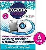 Ecozone Washing Machine and Dishwasher Cleaner x 6 Uses (Pack of 3)