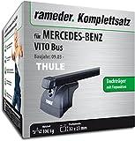 Rameder Komplettsatz, Dachträger SquareBar für Mercedes-Benz VITO Bus (116321-05013-2)