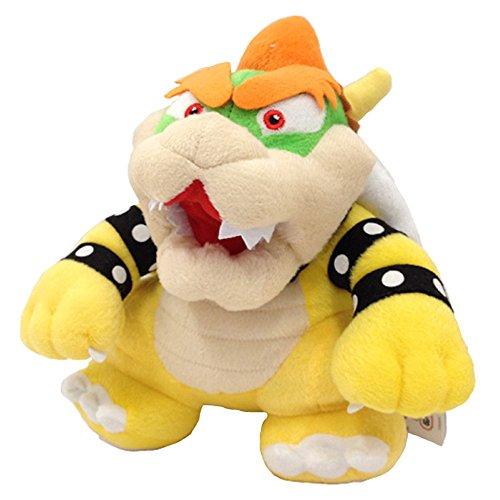 "Descripción de Super Mario Bros: Estado: nuevo. Material: felpa, algodón, fibra sintética. Tamaño aproximado: 23 cm. Bowser, a veces conocido como King Koopa (japoneses: Daimaoka, Kuppa, que se traduce en ""Gran Demón King Koopa"" o ""Gran Sorcerer King..."