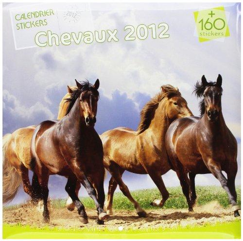 Calendrier Chevaux 2012