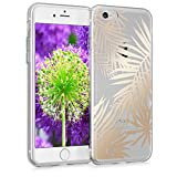 kwmobile Apple iPhone 7/8 Hülle - Handyhülle für Apple iPhone 7/8 - Handy Case in Gold Transparent
