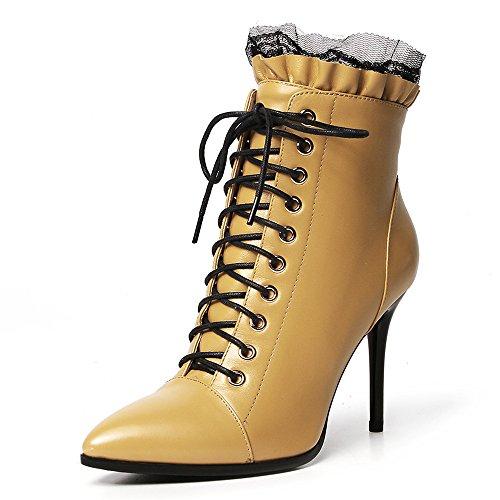 Nine Seven - Stivali donna Yellow