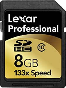 Lexar 8GB 133x Professional SDHC Card