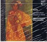 Oeuvres pour violon et piano | Ravel, Maurice (1875-1937)