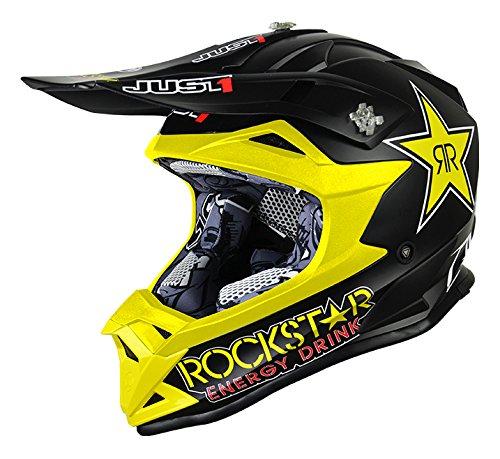 just1casco J32Pro Kids Rockstar, tamaño 52-yl,