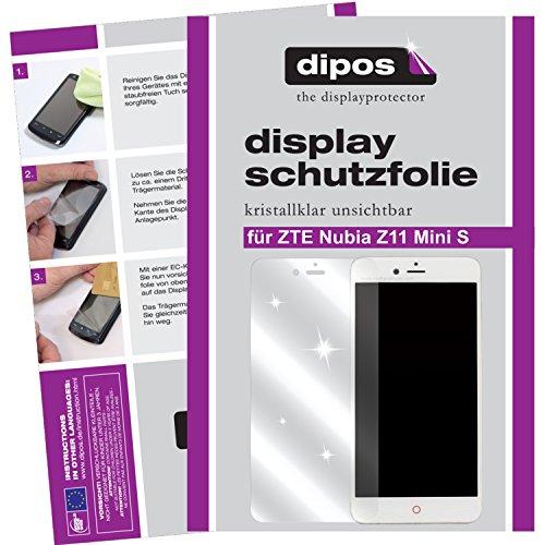 dipos I 6X Schutzfolie klar passend für ZTE Nubia Z11 Mini S Folie Bildschirmschutzfolie