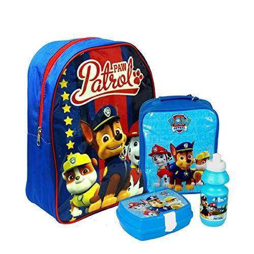 Nickelodeon® paw patrol, zaino per la scuola e i viaggi, set ufficiale per bambini