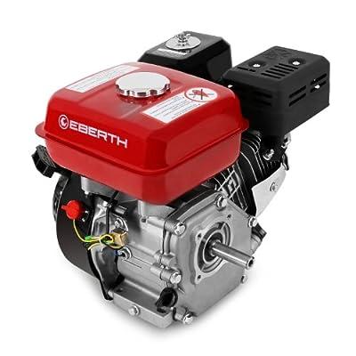 EBERTH 6,5 PS Benzinmotor 1 Zylinder 4-Takt 20mm Welle
