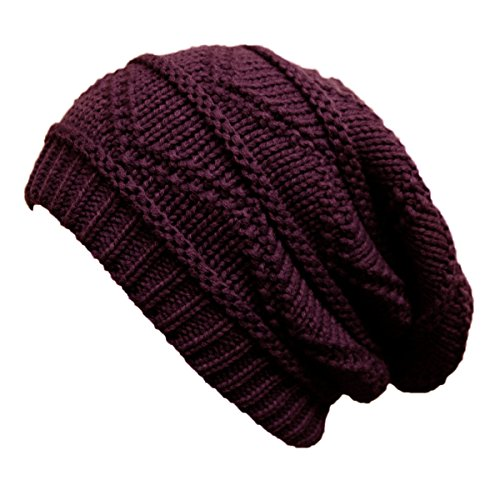 1f559a1458f2 TOSKATOK Ladies Knit Slouch Winter Hat/Beanie - Burg - Buy Online in Oman.  | Apparel Products in Oman - See Prices, Reviews and Free Delivery in  Muscat, ...
