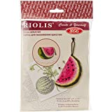 Riolis Stickpackung Nadelkissen Melone 866