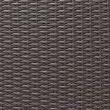 Pflanzwand Polyrattan grau/braun 80cm hoch - 4