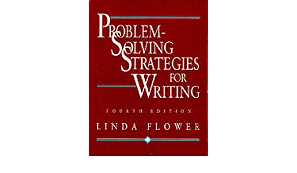yl joulu 2018 Problem solving Strategies for Writing: Amazon.co.uk: Linda Flower  yl joulu 2018