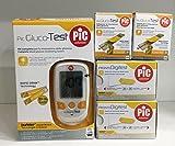 PIC GLUCO TEST - 60 Strisce per il controllo della glicemia + 55 lancette