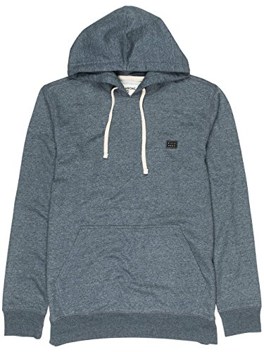 Billabong All Day – Felpa con cappuccio Chiusura lampo Uomo DARK SLATE HTR