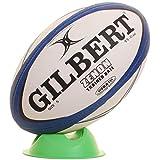 Gilbert Rugbyball Zenon Trainingsball - Marineblau / Schwarz, 4