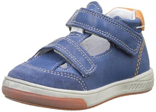 BabybotteSamoa - Pantofole a Stivaletto Bambino , blu (Bleu (Bleu/Orange)), 26 EU