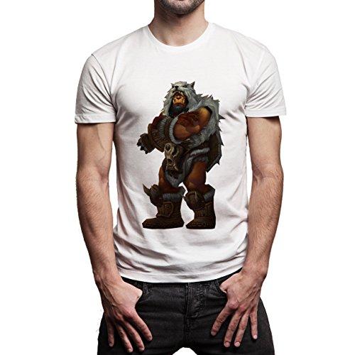 World Of Warcraft Heroes Blizzard Durotan Herren T-Shirt Weiß