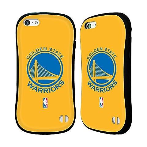Officiel NBA Plaine Golden State Warriors Étui Coque Hybride pour Apple iPhone 5c
