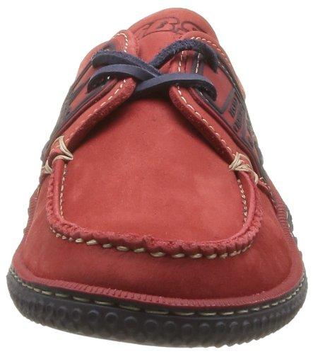 TBS Globek, Chaussures Bateau Hommes, Rouge (Rouge/Encre), 39 EU Rouge (Rouge Encre)