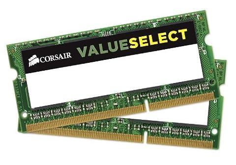 Corsair 4GB (2x2GB) DDR2 667 MHz (PC2 5300) Laptop Arbeitsspeicher (VS4GSDSKIT667D2)