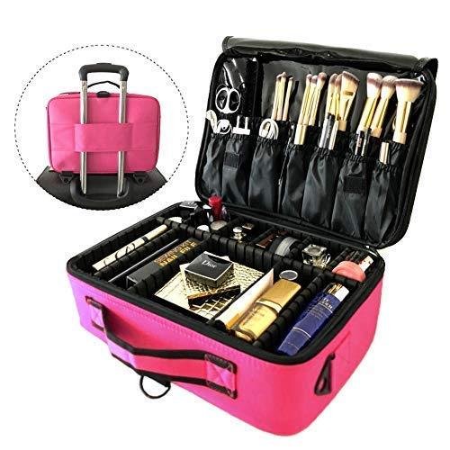 Neceser aseo viaje organizador maquillaje bolsa almacenamiento