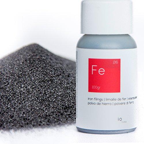 100 g Polvo de hierro de calidad superior