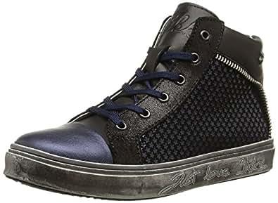 IKKS Kristen, Sneakers Hautes fille, Bleu (Vte Marine Dpf/Torres), 28 EU