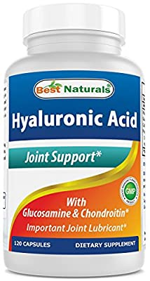 Best Naturals Hyaluronic Acid 100 mg per serving 120 Capsules from Best Naturals