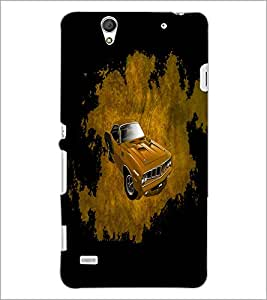 PrintDhaba Car D-4402 Back Case Cover for SONY XPERIA C4 (Multi-Coloured)