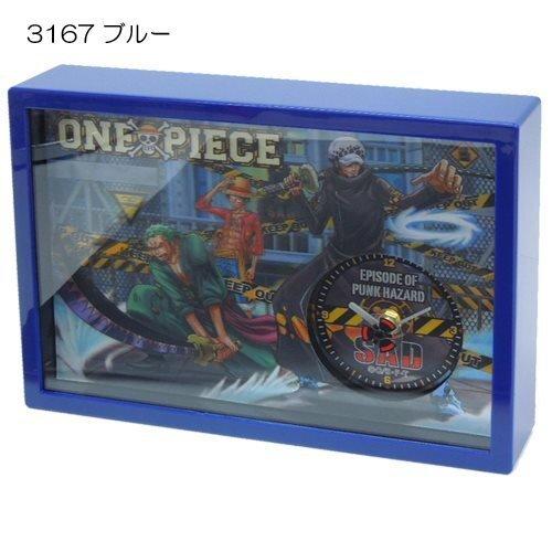 One Piece 3D clock situation (punk hazard battle) Blue (japan import)