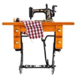 Best Kids Sewing Machines - 1:12 Dollhouse Wood Metal Material Sewing Machine Review