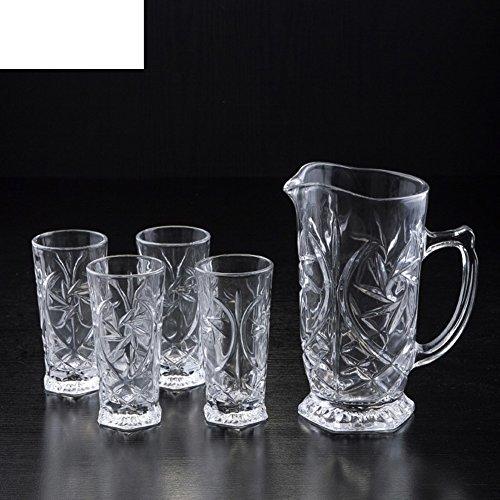 5 Stück Glas-set Wasser Kit Bulk-bier-becher-set-A (Bier Bulk Gläser)
