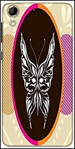 Snoogg Abstract Art001 Designer Protective Back Case Cover For HTC Desire 728