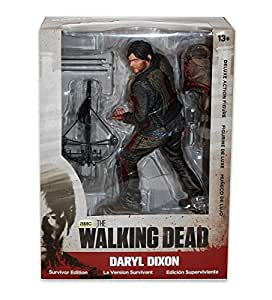 [Import Anglais]McFarlane Walking Dead 10 Inch Daryl Dixon Bloody Version Action Figure