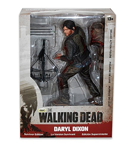 The Walking Dead - Daryl Dixon 25cm Deluxe Figur