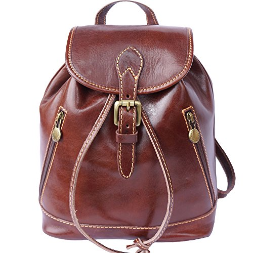 FLORENCE LEATHER MARKET Borsa a zainetto 6559 (Marrone)